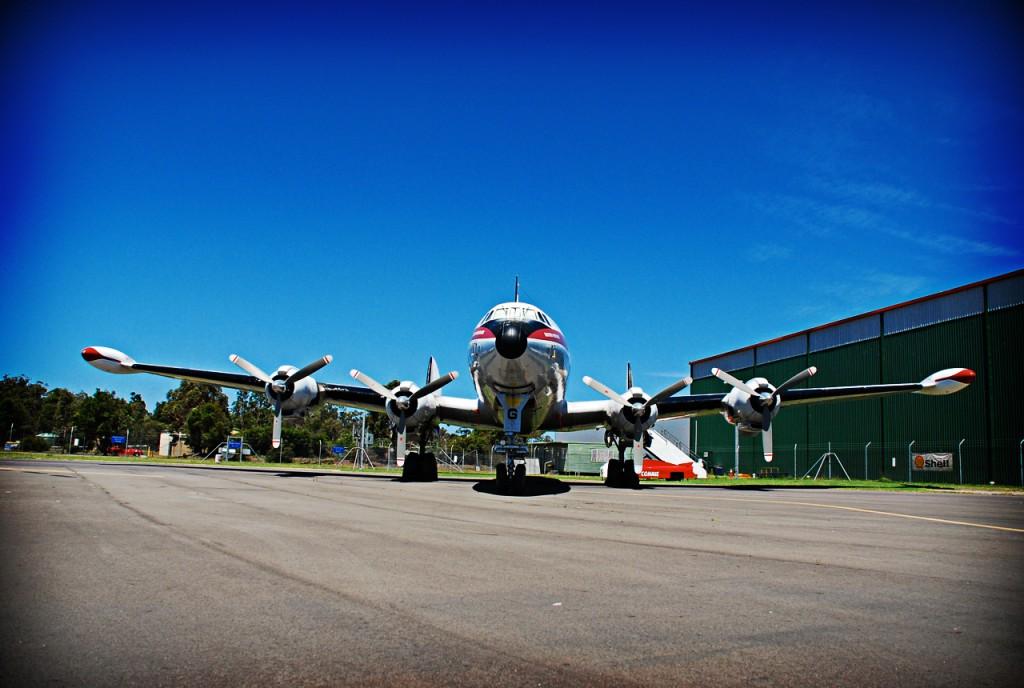 "Lockheed super constellation ""Connie"" VH-EAG"
