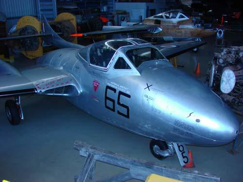De havilland T-35A Vampire A-79-665 VH-FJW