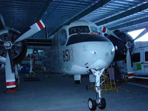 Grumman S-2G tracker 851
