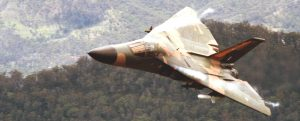 Photo Courtesy of RAAF (1 Squadron F111 -A8-114 near Cunningham's Gap, Qld)