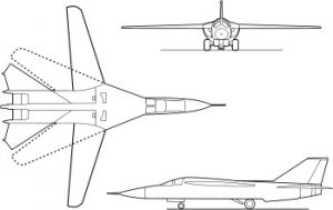 F-111C_outlines