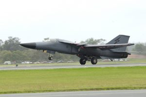 F-111 end of era final flight and landing