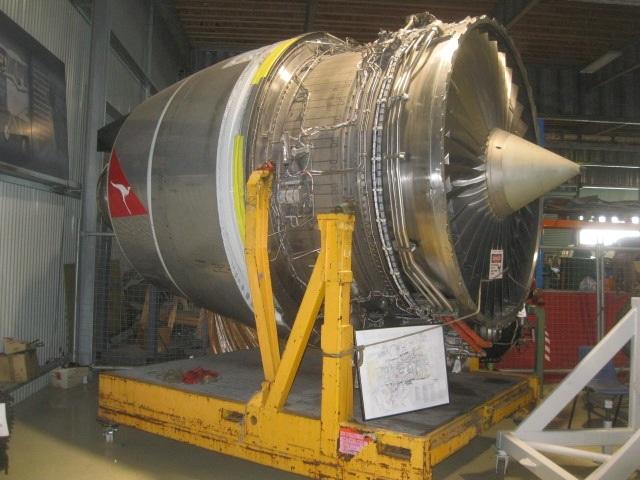 Rolls Royce RB211 Turbofan Jet...