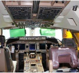 VH-OJA Cockpit